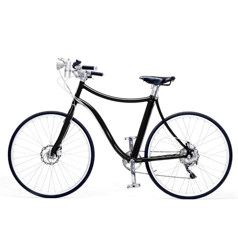 E-bike Stella Uomo Colore Nero Metallizzato Petrini Cicli