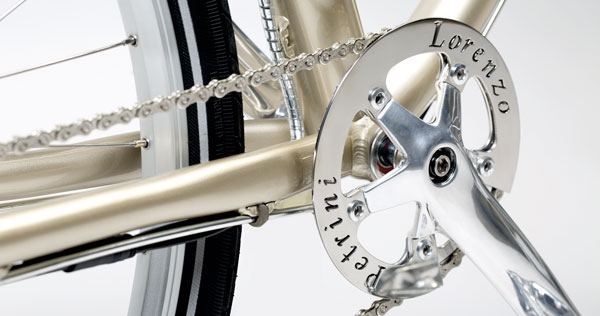 Petrini Cicli bici elettrica stella summer personalizzazione corona